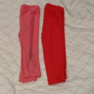 Lot of 18m leggings (Carter's & first impression)
